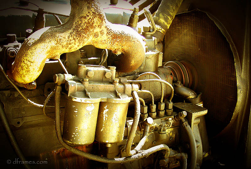 Rusty engine...,